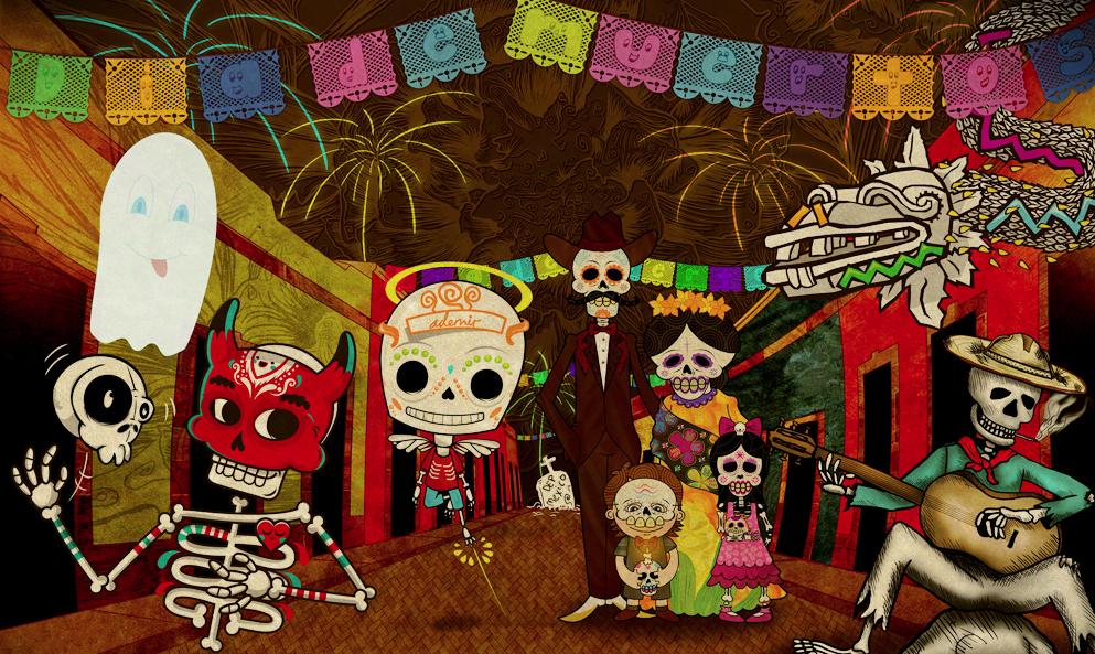 Decoracion Oficina Dia De Muertos ~ Day of the Dead  I am Todd